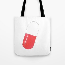 a pill Tote Bag