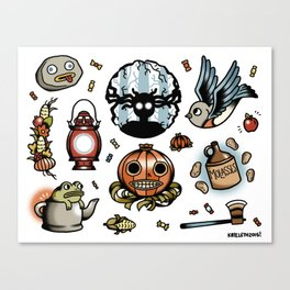 Into The Unknown Flash Sheet Canvas Print