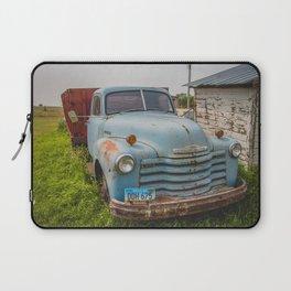 Truck, Regan, North Dakota 2 Laptop Sleeve