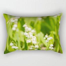 May Lily Blooming Rectangular Pillow