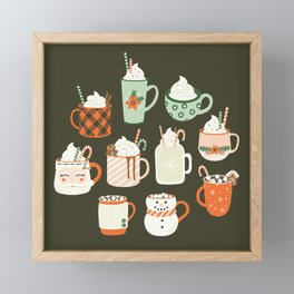 Christmas Cocoa Framed Mini Art Print