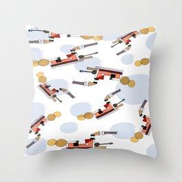 Gas Engine  Throw Pillow