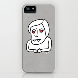 I want to work in the media iPhone Case