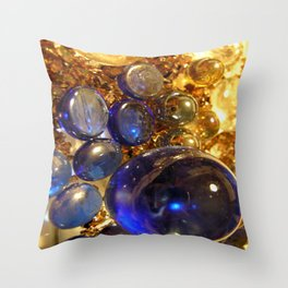 glass balls Throw Pillow