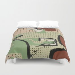 Le Corbusier - Femme lisant (woman reading) , 1936 Duvet Cover