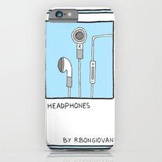 HEADPHONES Card iPhone 6s Slim Case