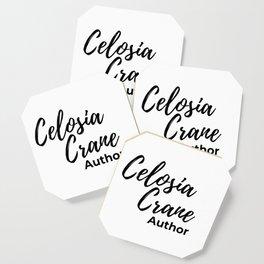 Celosia Crane Logo Coaster Coaster