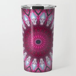 Kaleidoscope pink colors. Travel Mug