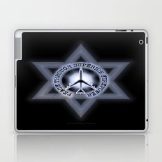 Israel Peace Symbol - 032 Laptop & iPad Skin
