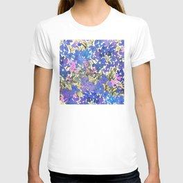 Blue Periwinkle Wildflowers T-shirt
