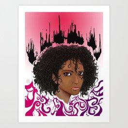 Furia. Art Print
