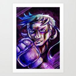 Ryu Art Print