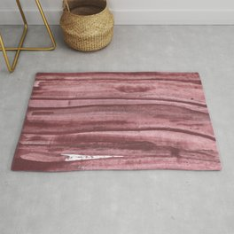 Rosy brown abstract Rug
