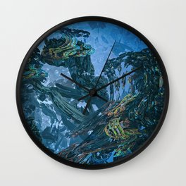 The Rolling Forest Wall Clock
