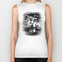 diver Biker Tanks featuring Diver by ghoste