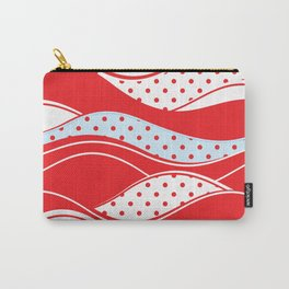 Christmas polka dot 1 Carry-All Pouch