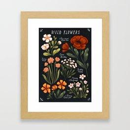 Wild Flowers ~ vol1. Framed Art Print