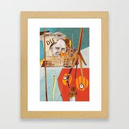 The cricket war3 Framed Art Print