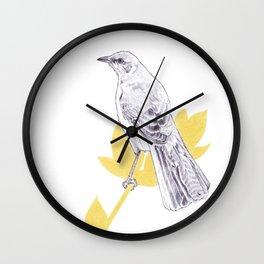 Mockingbird Song Wall Clock