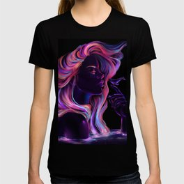 Blacklight Babe T-shirt