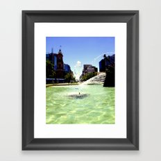Victoria Square Framed Art Print
