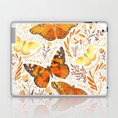 Orange Butterflies Laptop & iPad Skin