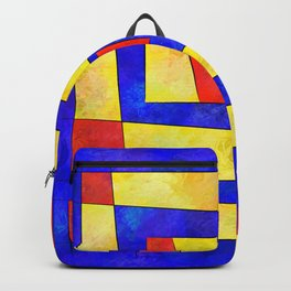 Semirenium - simple coloured cube world Backpack