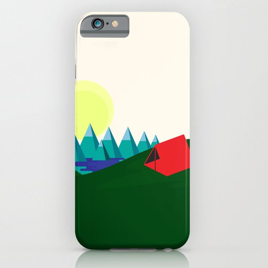 Camping is fun! iPhone & iPod Case