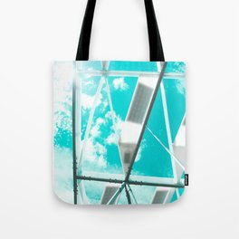 Technicolor Abstract Tote Bag