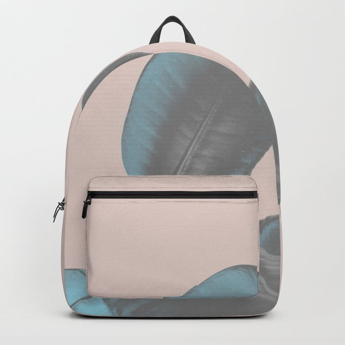 Ficus Elastica #7 #pastel #red #art #society6 Backpack