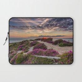Headon Hill Sunset Isle Of Wight Laptop Sleeve