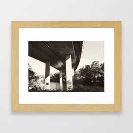 Bridge 97 Framed Art Print