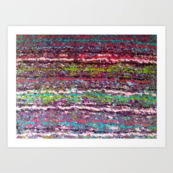 Fuzzy Sweater II Art Print