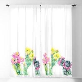 Cacti Succulents, Desert design Arizona Cacti Southwestern Art Blackout Curtain