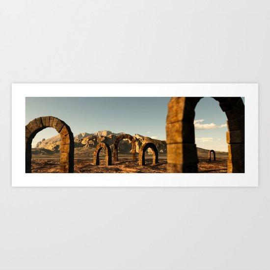 Roman Arch Art Print