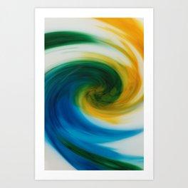 Milky Way Stir Art Print