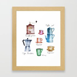 Coffee Time! Framed Art Print
