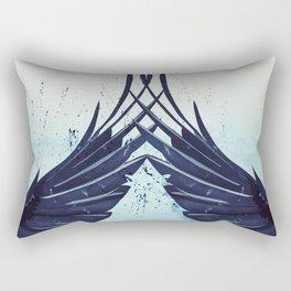 Crow's magic Rectangular Pillow