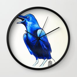 Corvo Blu Wall Clock