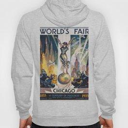 Vintage World's Fair Chicago 1933 Hoody