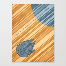 Millenium Falcon Canvas Print