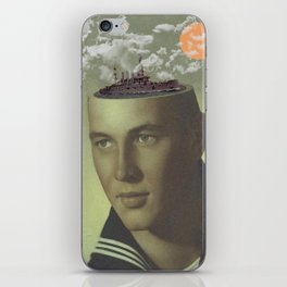 """""""Spring Sailing"""" by Butter And Salmon iPhone Skin"""