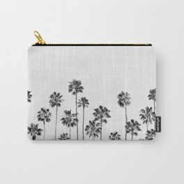 Black And White Palms 2 Carry-All Pouch