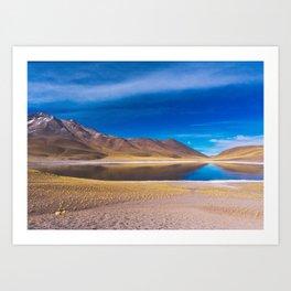 Laguna Miscanti, San Pedro de Atacama Desert, Chile Art Print