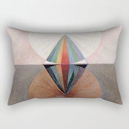 Hilma af Klint Group IX/SUW The Swan No. 12 Rectangular Pillow