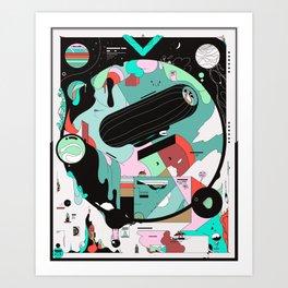 VKVKVKVK Art Print