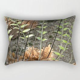 Walk in a Tropical Forest Rectangular Pillow