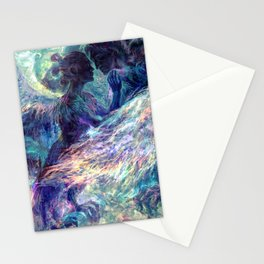 Sirin y Alkonost Stationery Cards
