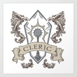 The Cleric Art Print