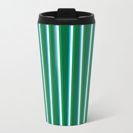 Between the Trees Forest Green, Green & Blue #811 Travel Mug